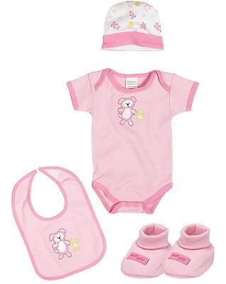 Baby MüHsam Playshoes Baby Ausstattungsset 4 Tlg Rosa In Geschenkbox 765344 Neu Ovp Im Sommer KüHl Und Im Winter Warm