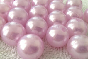 150 opaque smooth round AB acrylic plastic beads 6mm mix choice of single colour