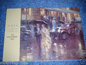 COYS-AUCTION-CATALOGUE-DECEMBER-1996-WESTMINSTER-LONDON-BMW-328-S-TYPE-INVICTA