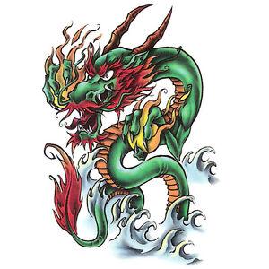 Bullseye-Realistic-Temporary-Tattoo-Oriental-Dragon-Made-in-USA-Big-Tattoos