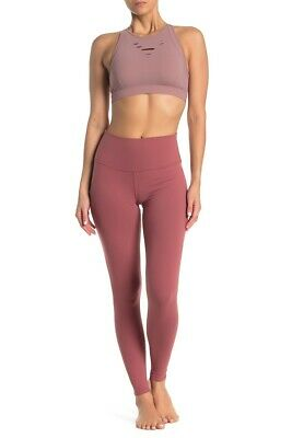 Nwt Alo Yoga High Waist Airbrush Leggings Color Rosewood Size Small Sold Out Ebay