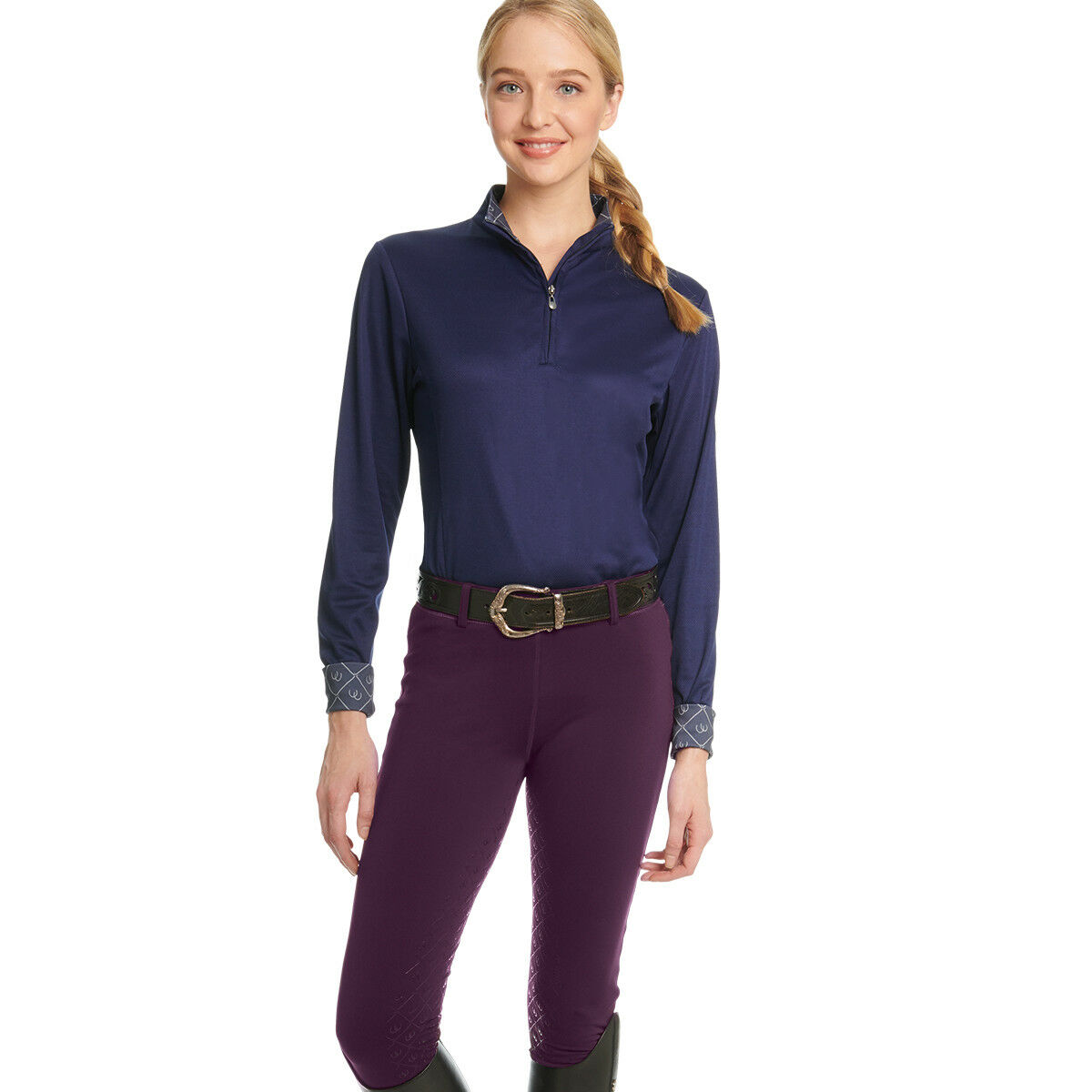 Ovation Ladies Equinox 3-Season  Full Seat Pull-On Breech - Differ colors Sizes  simple and generous design