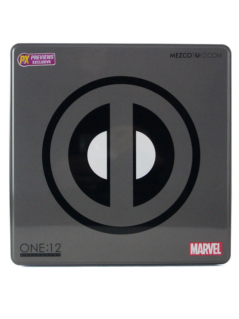 Mezco Juguetes Deadpool uno 12 colectivo PX vistas previas Exclusivo Figura X-force