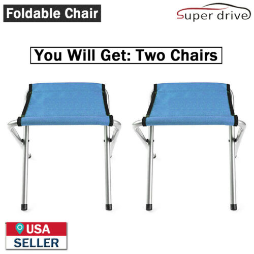 2-PACK Portable Garden Furniture Folding Chair For Outdoor Sports Picnic Camping