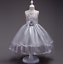 Toddler Kids Girl Princess Dress Flower Wedding Party Pageant Formal Dresses ZG8