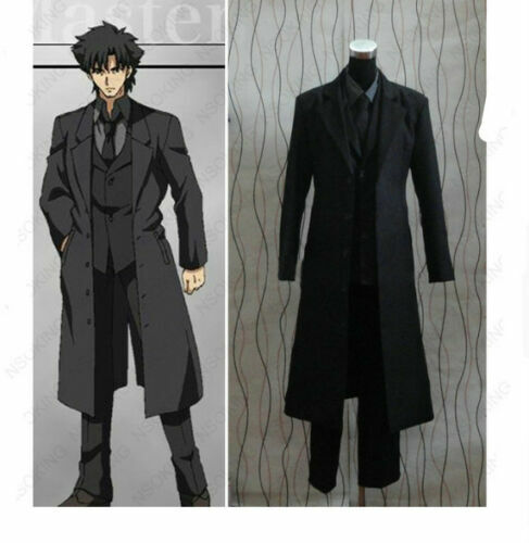 Anime Fate//Zero Clothes fate//stay night Emiya Kiritsugu Cosplay Costume