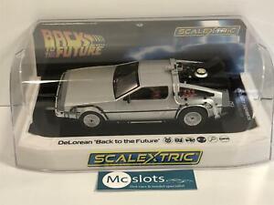 Scalextric-C4117-DeLorean-Back-to-the-Future-Brand-New-Boxed