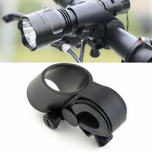 Bike-Bicycle-LED-Laser-Torch-Flashlight-Mount-Clamp-Clip-Grip-Bracket-Holder-HA