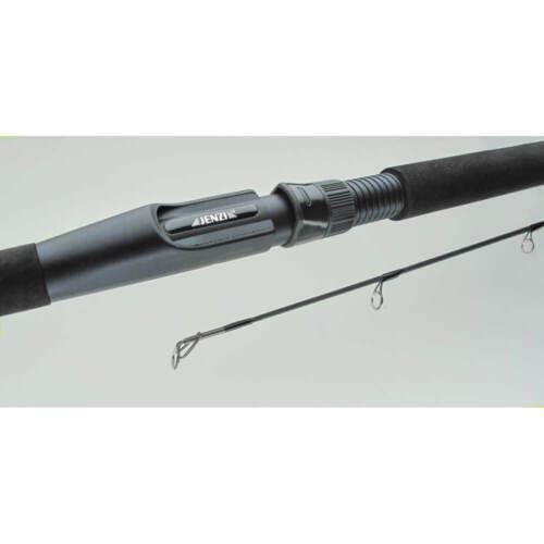 Jenzi Canna Girevole Avalon Chebu Spin M 7-35g Carbonrute Canna da Pesca Nero