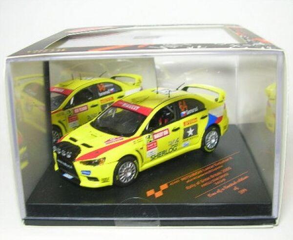 100% De Qualité Mitsubishi Lancer Evo X No. 64 Rally Great Britain 2009