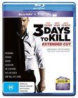 3 Days To Kill (Blu-ray, 2014)