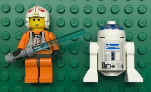 R2D2 Minifig Lot Lego Luke Skywalker Star Wars Figures rebel pilot 6212