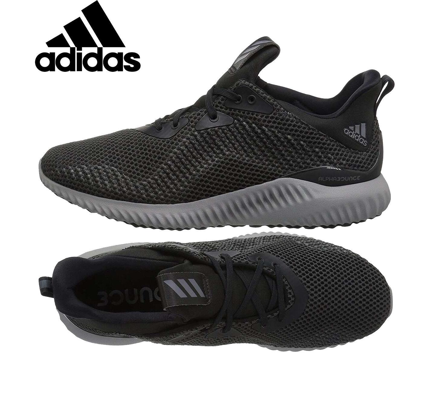 Adidas Mujer Mujer Alphabounce 1 Mujer Mujer Corriendo Zapatos Negros Zapatillas CG5400 Nuevo bba1ef