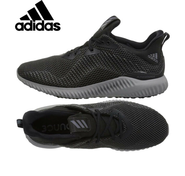 Womens ADIDAS ALPHABOUNCE 1 Womens Running Shoes Black Sneakers CG5400 NEW 5b0caa04c