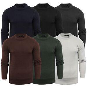 Brave-Soul-Fulton-Mens-Jumper-Kintted-Crew-Neck-Sweater