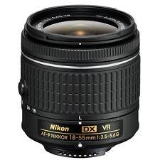 Nikon AF-P 18-55mm f/3.5-5.6G DX VR NIKKOR Zoom Lens - NEW Technology
