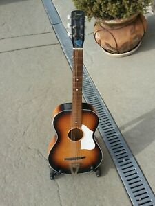Cameo Antique Acoustic Guitar Possibly 1960s Made In holland
