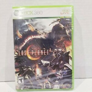 Lost-Planet-2-Microsoft-Xbox-360-2010-NEW-SEALED-Capcom-Video-Game-CIB