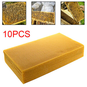 10-Sheets-100-Pure-Natural-Beeswax-Candlemaking-Bee-Wax-Candle-Crafts-New