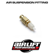 """AIRLIFT ACCUAIR 1/4"""" PUSH TO FIT PTC INFLATION VALVE FOR 1/4"""" TUBE"""