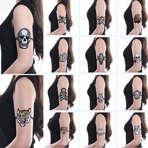 Punk Tattoo Stretch Upper Arm Bracelet Boho Embroidery Armband