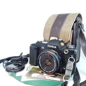 Konica-fs-1-35mm-SLR-Filmkamera-mit-40mm-f1-8-Hexanon-AR-Lens-Papiere-getestet