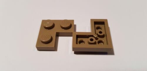 #sw15 Lego ® 5 x plancha de 2420 2 x 2 ángulo oscuro beige 4550168 Dark tan