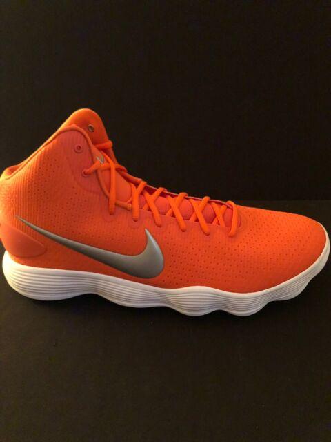 Nike Hyperdunk Mid Basketball Shoes Orange Blaze 942571-801 Size 17.5 Mens  New