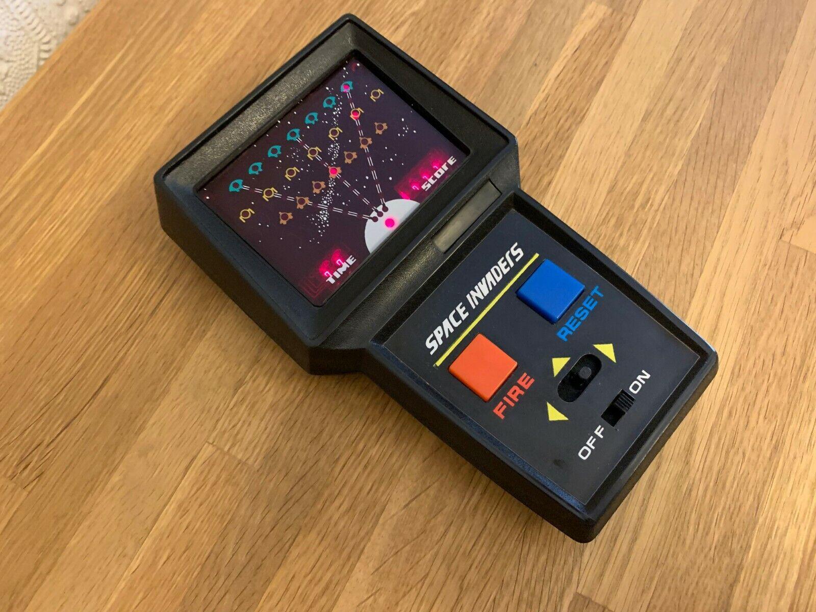 Muy Raro Nuevo-Gio Space Invaders Vintage 1979 Led Portátil Juego Electrónico  como Nuevo