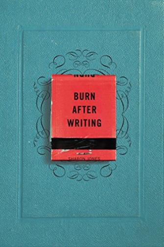 Jones Sharon-Burn After Writing (US IMPORT) BOOK NEW