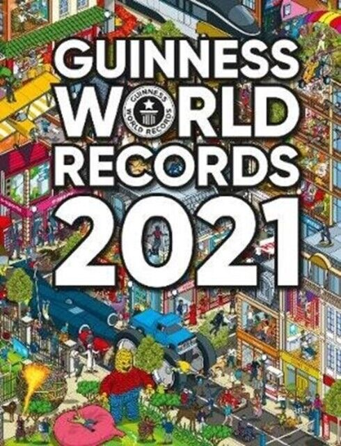 Guinness World Records 2021 -9781913484019- NEW