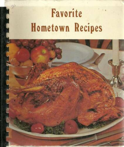 NOVELTY OH 1976 VINTAGE FAVORITE HOMETOWN RECIPES COOK BOOK RIVERVIEW CHURCH