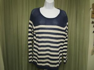 Mossimo-Juniors-Long-Sleeve-Casual-Work-Office-School-Blouse-Top-Size-XL