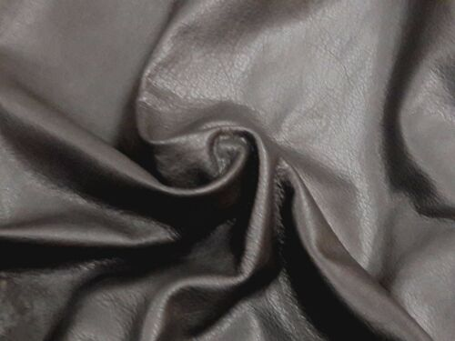COWHIDE LEATHER CUT PIECE GENUINE AMERICAN LEATHER HIDE BLACK DIFFERENT SIZES