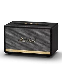 Genuine-Marshall-Acton-II-Bluetooth-Speaker-BLACK-Sealed-New