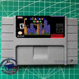 Mega-Mario-World-Another-Universe-SNES-Video-Game-USA-Version-Free-Shipping