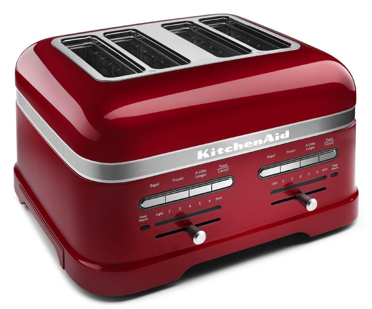 KitchenAid Proline Grille-pain 4 fentes-Candy Apple rouge