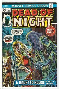 Dead-of-Night-Vol-1-1-Very-Fine-VFN-RS004-Marvel-Comics-BRONZE-AGE