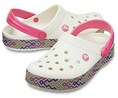 Crocs Crocband Clogs Oyster Off-White