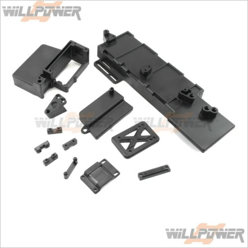 HongNor LX-1//X3-GT//SABRE RC-WillPower Receiver Box//Top Plate//Battery Case #395