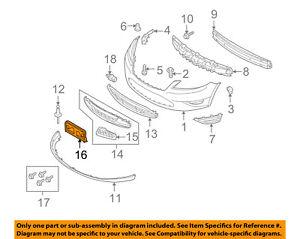 ford oem 10 12 taurus license plate bracket mount holder rh ebay com