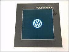 1988 Vw Volkswagen 12 Page Brochure Catalog Vanagon Cabriolet Quantum Gti Golf