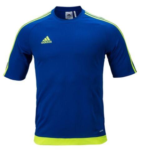 Adidas Men Estro 15 Shirts S//S Soccer Jersey Football Climalte Top Shirt BP7194