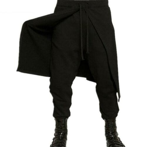 Goth Trousers Baggy Pants Fashion Loose Casual Harem Plus Size Gothic Pant Y2