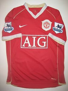 check out bfe08 f3620 Details about Manchester United Cristiano Ronaldo Nike Kit Jersey 2006 Real  Madrid/Portugal