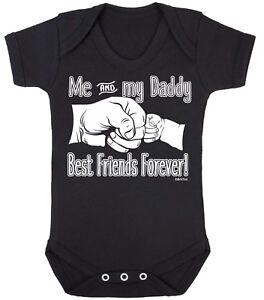 Me-amp-Best-Friends-Forever-Gracioso-mi-papa-chicos-chicas-bebe-crezca-Body-Papa-Regalo