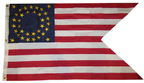 3x5 Embroidered Union Cavalry Guidon 600D 2 Ply Premium Quality Nylon Flag 3/'x5/'