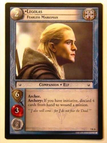 Legolas 7//25 Lord of the Rings LOTR CCG