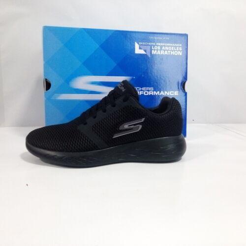 Skechers 55061 Run Go Hombre Zapatos Negro Perfeccionar 600 OaqgBHHw