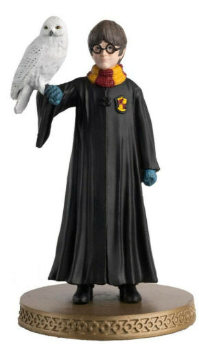 Wizarding World Figurine Collection 1//16 Harry Potter et Hedwige 10 cm 001250